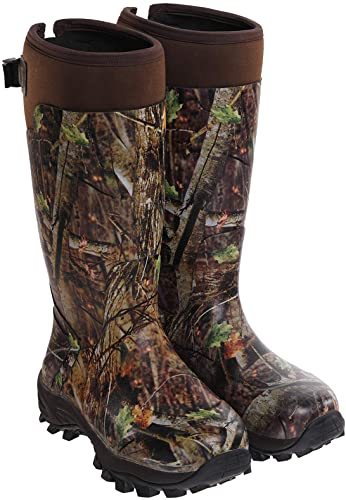 hunting rubber boots made by Hisea