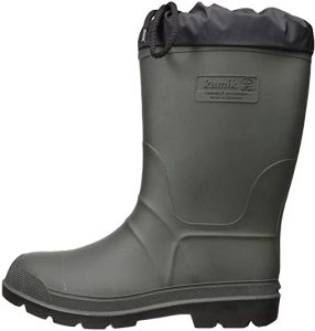 pair of rubber boots for hunters